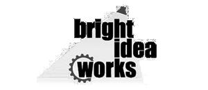 Logo of Bright Idea Works for Lumenworkx Opto-mechanical Design Partner mention