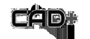 Logo of CAD Plus for Lumenworkx Opto-mechanical Design Partner mention