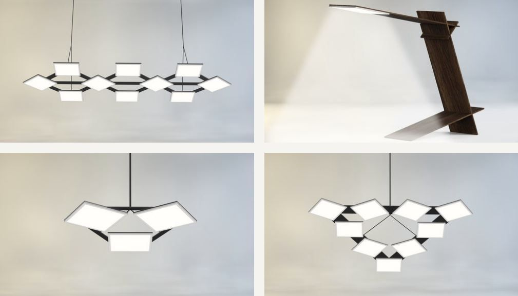 Image of Lightly Hikari SQ applied into various pendant installations